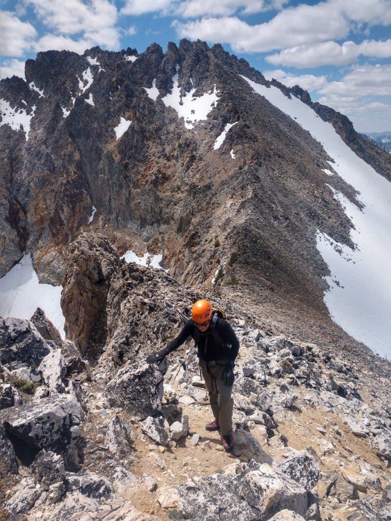 Mark Climbing Mountains